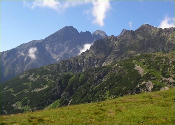 Malý Kežmarský štít z Doliny Bielych plies