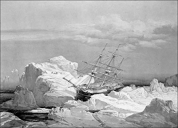 Investigator v ledovém zajetí
