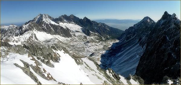 Veľká Studená dolina z Východnej Vysokej