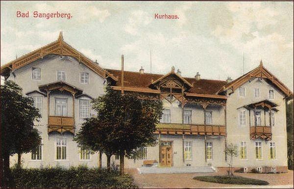 Lázeňský dům v roce 1905