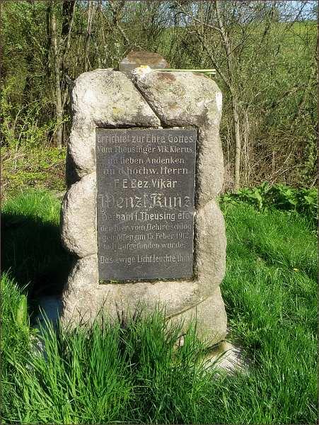 Pomník děkana Wenzela Kunze