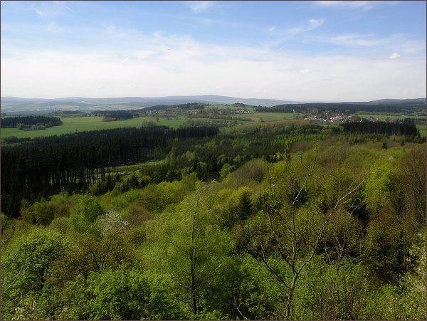 Český les s Dylení z Podhorního vrchu