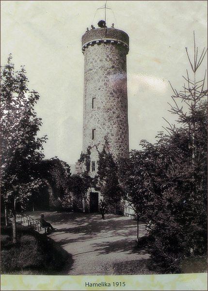Rozhledna Hamelika v roce 1915