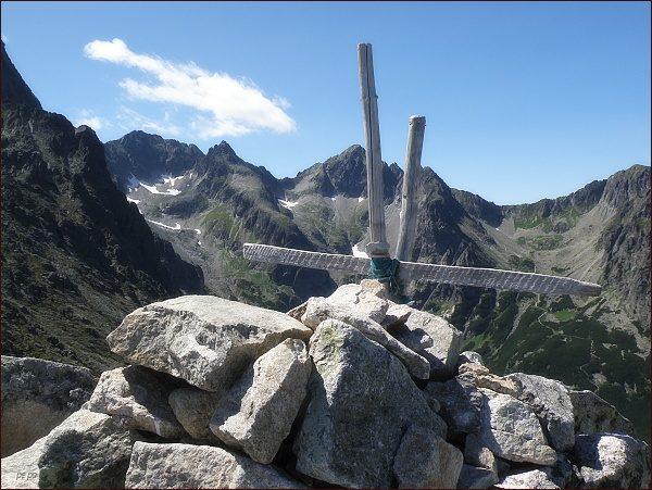 Na vrcholu Veľkej Svišťovky