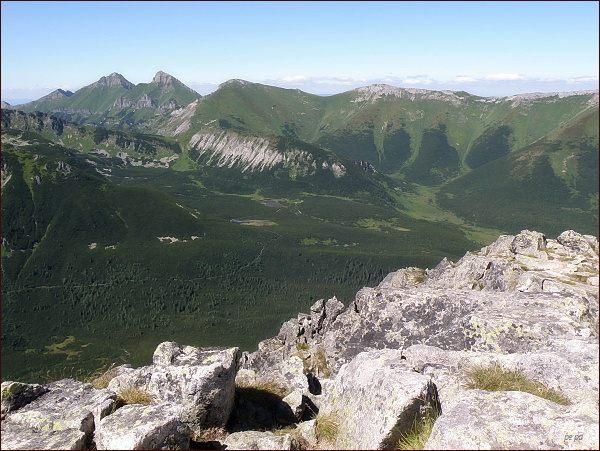 Belianske Tatry a Dolina Bielych plies z Veľkej Svišťovky