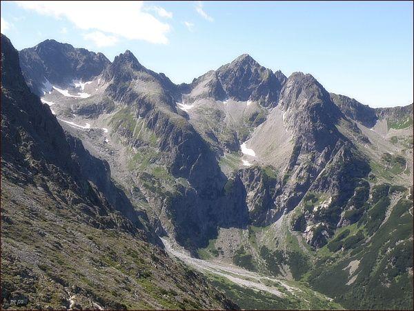 Zmrzlé doliny z Veľkej Svišťovky