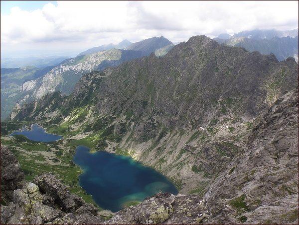 Žabia Bielovodská dolina, Žabie Bielovodské plesá a Mlynár ze Žabieho Mnícha