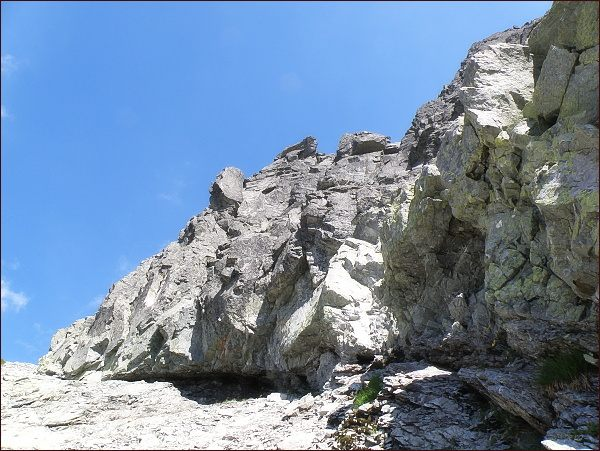 Stěny Prostredného Mengusovského štítu