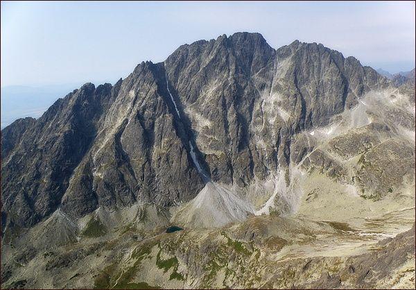 Gerlachovský štít a Zadný Gerlach z Bradavice