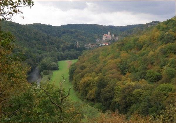 Jedna z vyhlídek na okruhu Einsiedlerweg