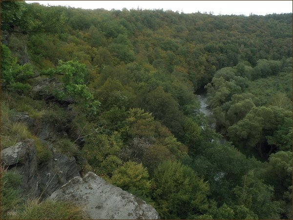 Údolí Dyje z okruhu Einsiedlerweg