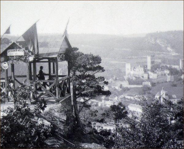 Luitgardina vyhlídka na přelomu 19. a 20. století