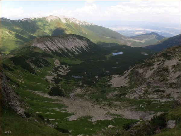 Dolina Bielych plies z Jahňacieho štítu