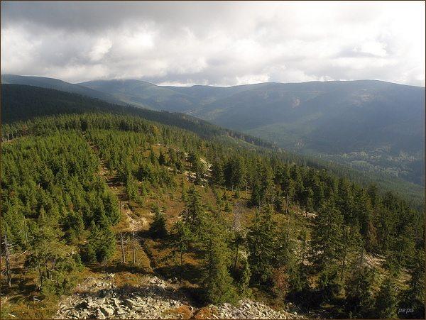 Údolí Moravy z Klepáče
