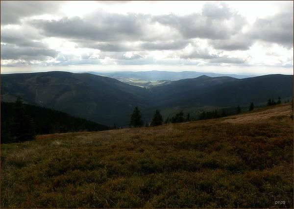 Údolí Moravy z Králického Sněžníku