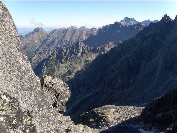 Kačacia dolina z Východného Železného štítu