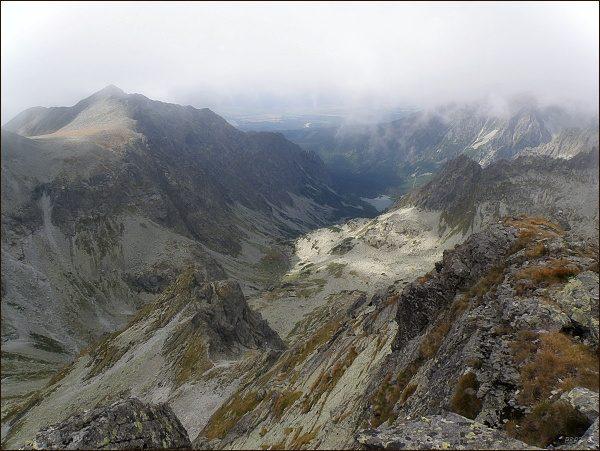 Dolina Zlomísk ze Západného Železného štítu
