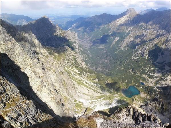 Bielovodská doliny ze Západného Železného štítu