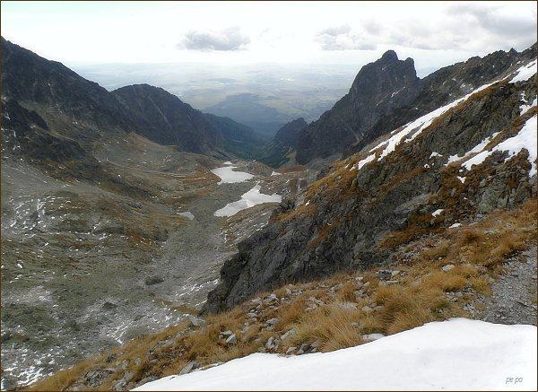 Prostredný hrot z Ľadovej priehyby