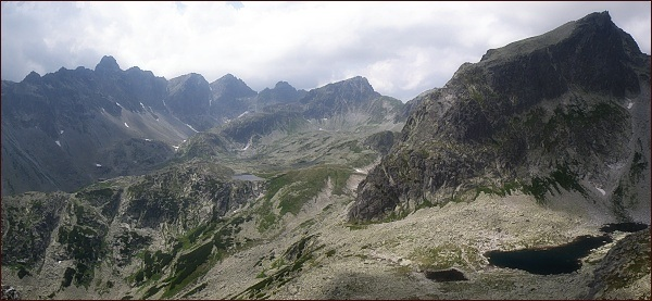 Veľká Studená dolina ze Streleckej veže