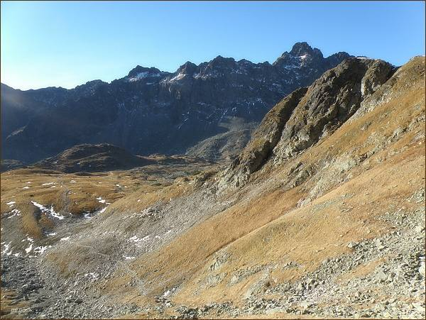Veľká Studená dolina zpod Malého Javorového štítu