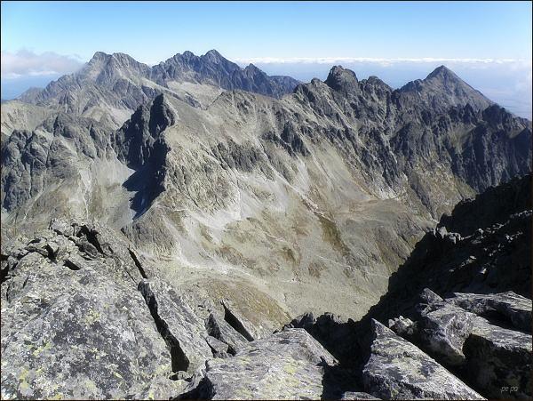 Velická dolina z Malej Litvorovej veže