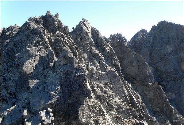 Na Veľkej Litvorovej veži. Těch vrcholů přede mnou je víc, než by být mělo...