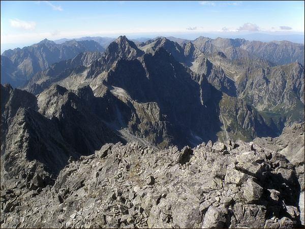 Závěr Kačacej doliny ze Zadného Gerlachu