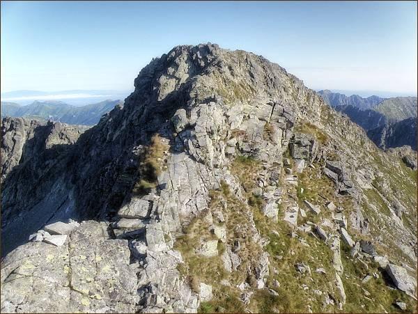 Hrubý vrch z Furkotského štítu
