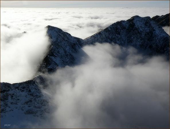 Ostrá a Krátka z Hrubého vrchu