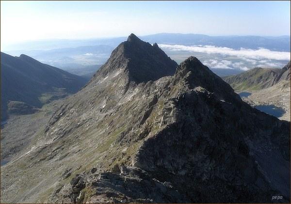 Veľké Solisko a Furkotský štít z Hrubého vrchu