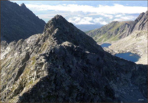 Furkotský štít z Hrubého vrchu