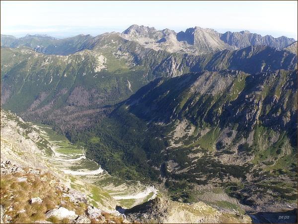 Hlinská dolina z Hrubého vrchu