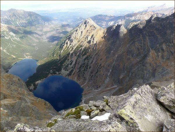 Dolina Rybiego Potoku z Volej veže