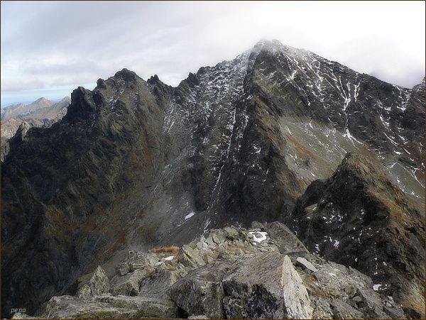 Rysy, Malé Rysy a Spádová kopa z Volej veže
