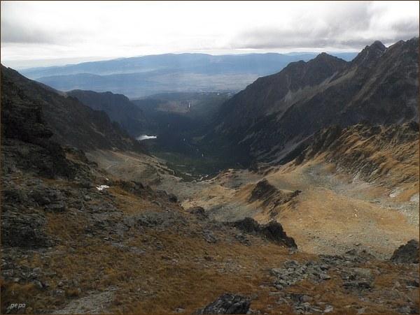 Mengusovská dolina z Volieho chrbátu