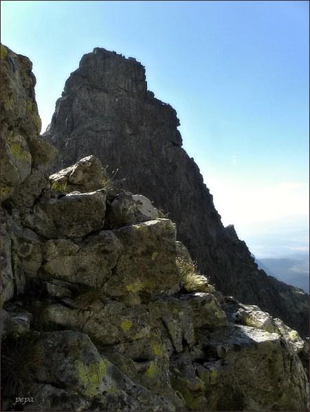 Hincova veža od Východného Mengusovského štítu