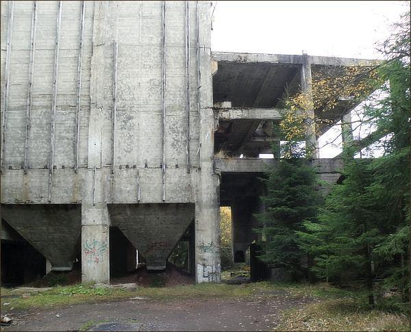 Důl Sauersack, bývalá úpravna rud
