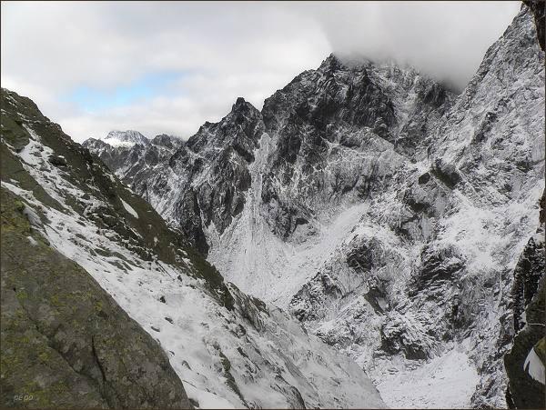 Litvorový štít z Hrubej Snežnej kopy