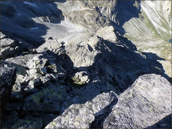 Pohled z Litvorového štítu do Kačacej doliny