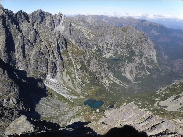Kačacia dolina z Litvorového štítu