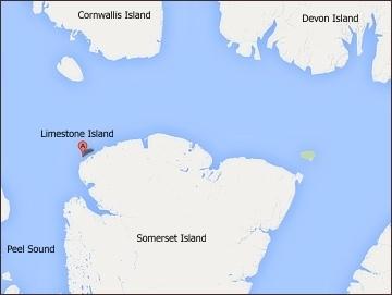 Limestone Island, poloha