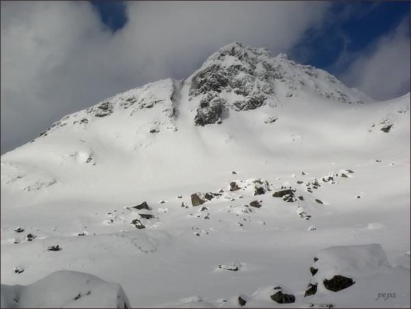 Volovec mengusovský nad Kotlinkou Žabích plies