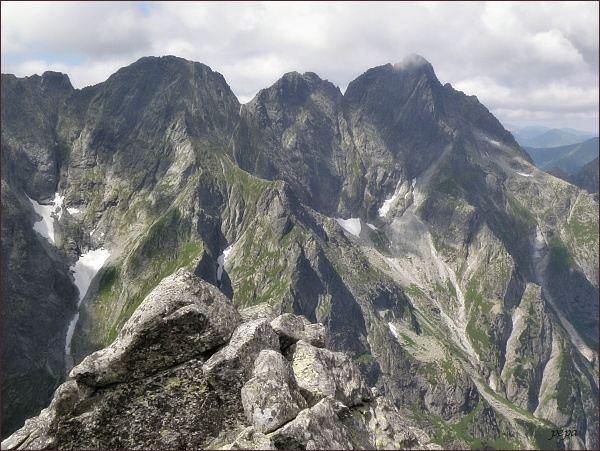 Severní stěny Mengusovských štítů