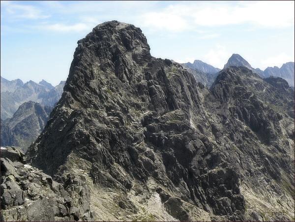 Veľký Mengusovský štít z Čubriny