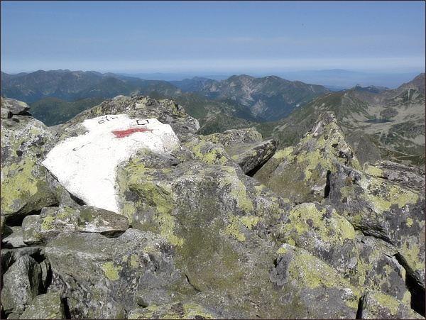Na vrcholu Veľkého Mengusovského štítu