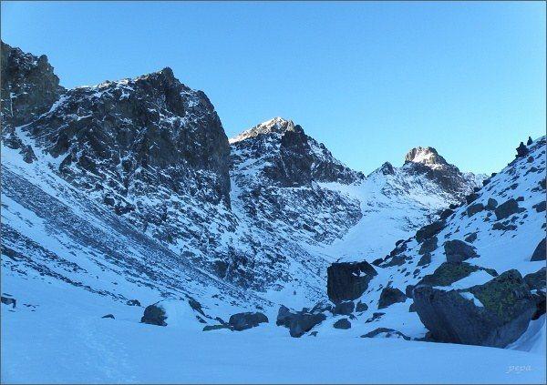 Veľká Studená dolina. Weszterov štít, Kupola, Východná Vysoká a Divá veža