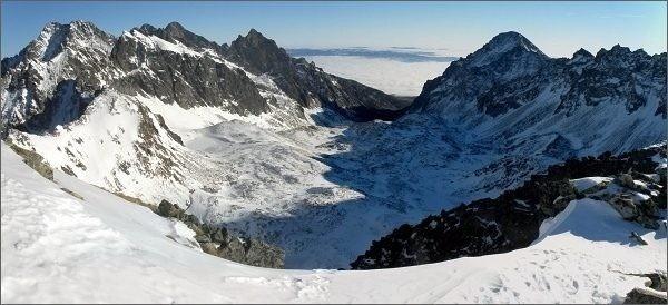 Veľká Studená dolina ze Svišťového štítu