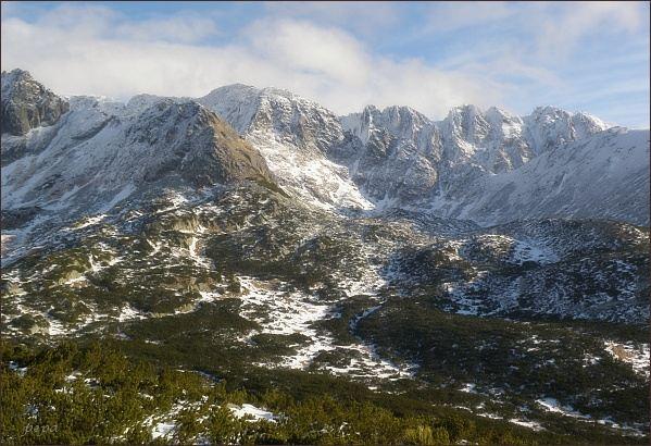 Važecká dolina z Predného Handela