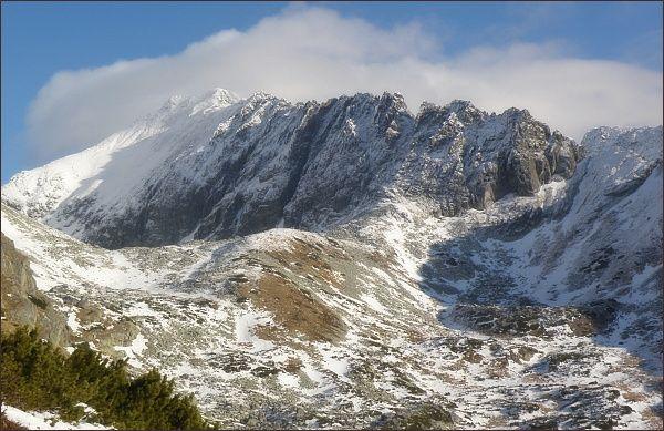 Važecká dolina a Jamský hrebeň z Predného Handela